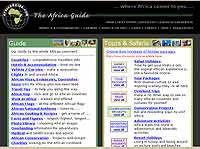 Africa Guide website