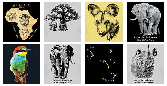 African Wildlife T-shirts