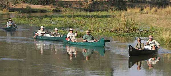 Canoe Safari on Lower Zambezi