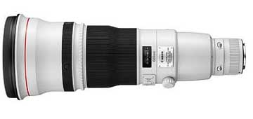 Canon EF 600mm f/4 IS lens