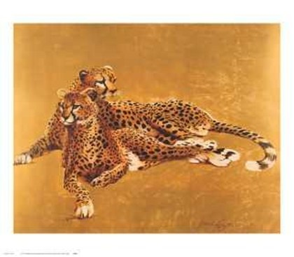 Cheetah Pair Fine Art print