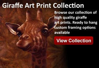 giraffe art from wildlife pictures art gallery