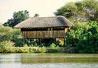 Pete's Pond - the hide