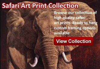 safari art from wildlife pictures art gallery