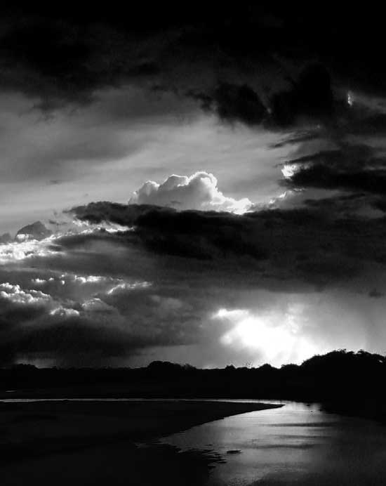 Storm clouds over Limpopo River