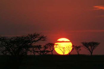 Sunrise, Weenen Game Reserve, South Africa