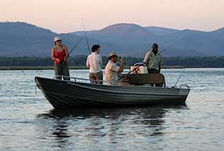 Tiger fishing on the Zambezi