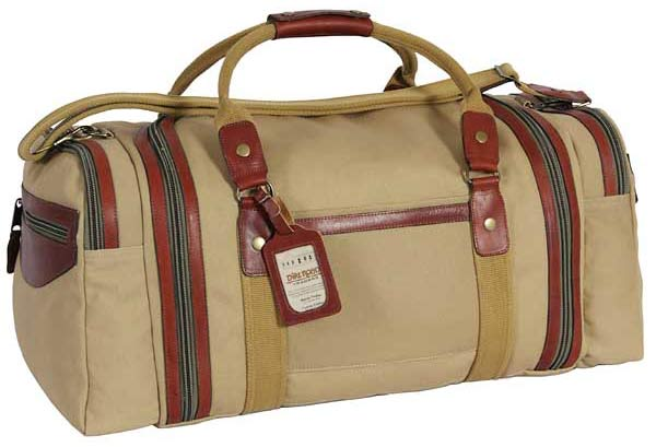 Dirt Road canvas and leather trail bag