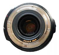 Canon EF Lens Mount on 70-300mm zoom