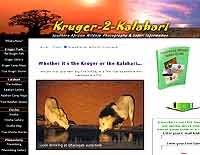 Kruger-to-Kalahari  safari guide
