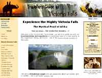 Victoria Falls Travel Guide website